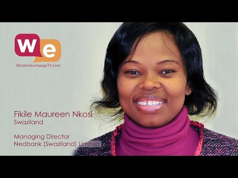 Wisdom Exchange TV with host Suzanne F Stevens presents: Fikile Nkosi | Nedbank Swaziland