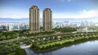 建築3D  遠雄左岸 【香榭園】 聖工坊2013
