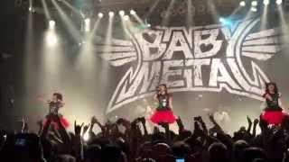 BABYMETAL - Gimme Chocolate Live in Chicago 5-14-2015 (60 fps)