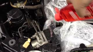 Toyota 2005-2005 Pinic Engine cleaning [after buy]