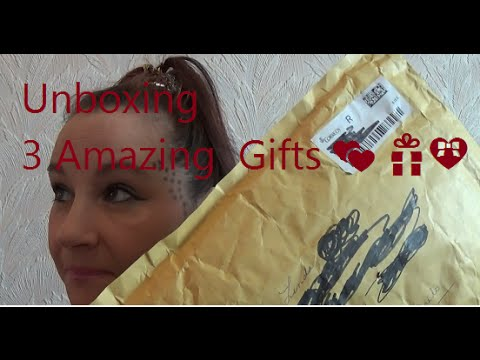 🎁💝 Unboxing 3 Beautiful Packages 💕 🎁💝