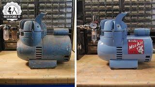 Old Airbrush Compressor Restoration