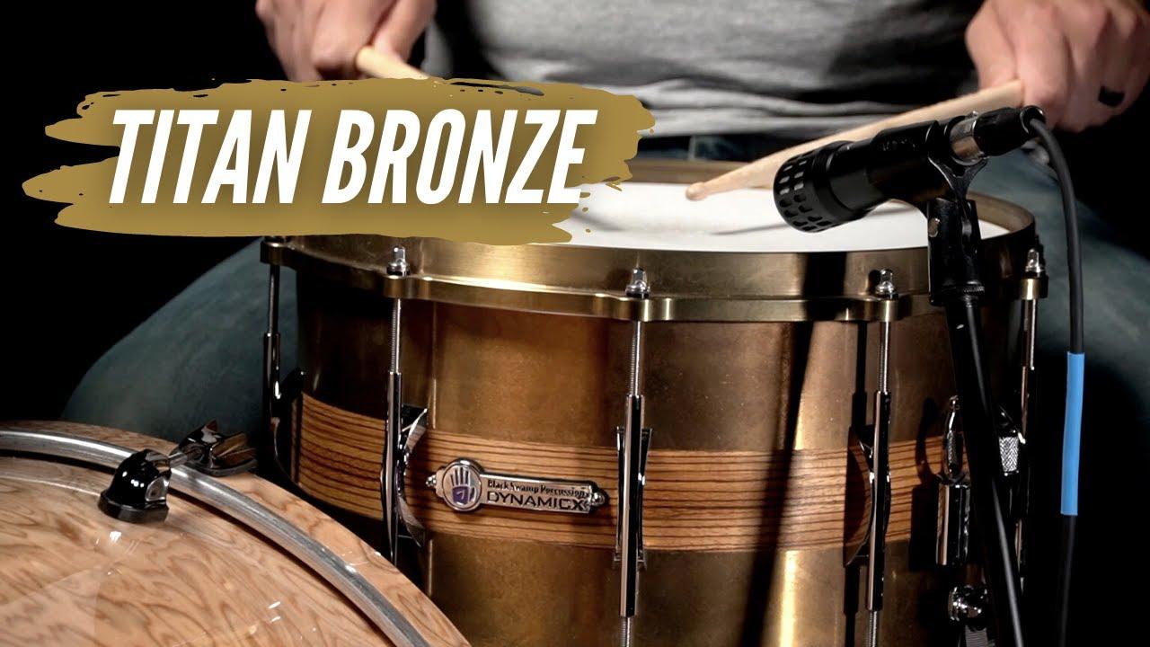 Titan Bronze Snare Drums