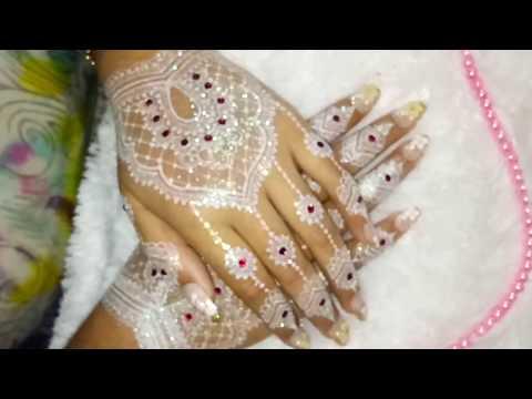 Karya Henna Putih 2 Devina Henna Art Youtube