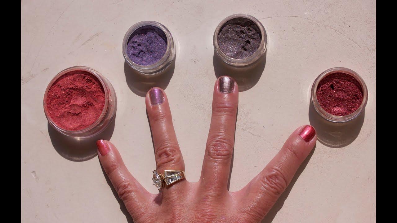 Make Nail Polish With Mineral Makeup - DIY! - YouTube