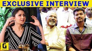 Mani Ratnam, Vijay, A. R. Rahman Are My... - Sayyeshaa | Junga | Vijay Sethupathi | Ghajinikanth