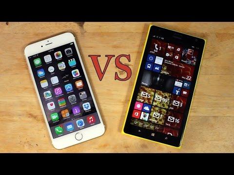 Phablet Fight: iPhone 6 Plus vs Nokia Lumia 1520