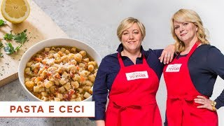 How to Make Pasta e Ceci (Pasta with Chickpeas)
