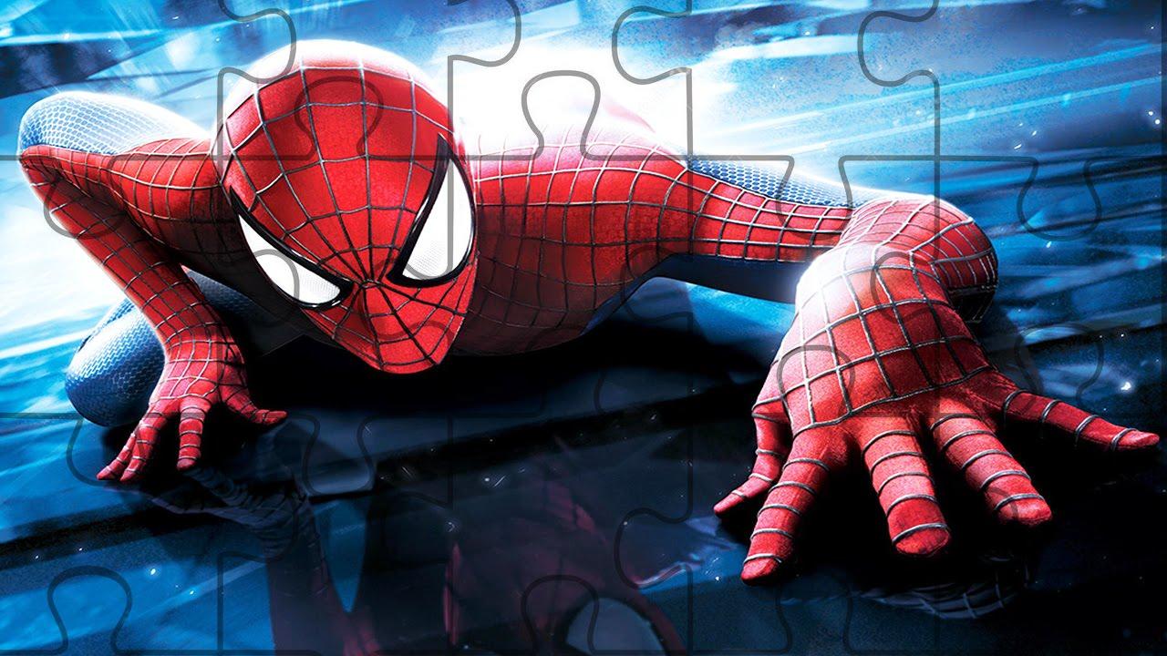 Rompecabeza Del Hombre Arana Para Ninos Spiderman Puzzle Game For
