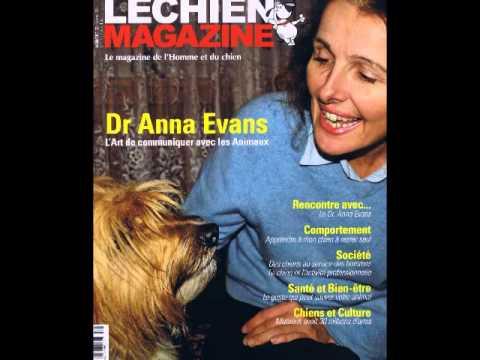 """Anna Evans """" communication intuitive avec le monde animal """""""