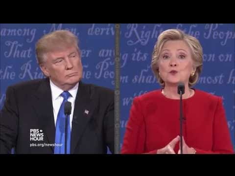 ISSUES: First Presidential Debate