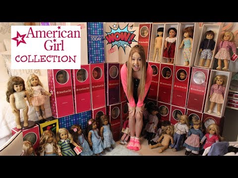 Huge American Girl Doll Collection!