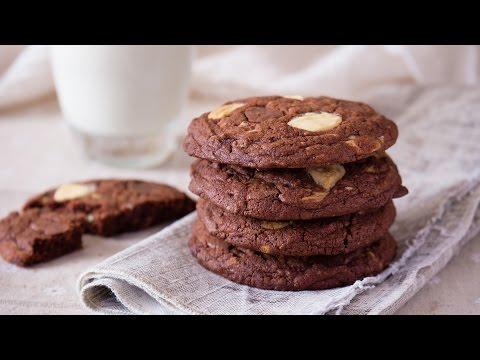 三重巧克力软曲奇 Triple Chocolate Cookie【曼食慢语第98集】