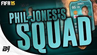 95 PLAYER CARD PHIL JONES SQUAD TOUR w/ ROBBEN! | FIFA 15 Ultimate Team