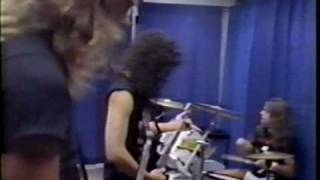 Metallica - Tuning Room (Washington, DC 1992)