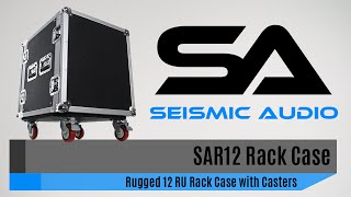 Seismic Audio SAR12 Rack Case (Official)