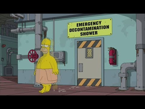 The Simpsons - Homer lives in the nuclear power plant