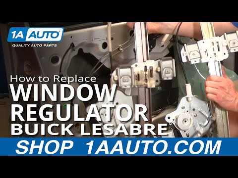 POWER WINDOW REGULATOR DRIVER SIDE WITH MOTOR 2000-2005 BONNNEVILLE