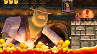 Evil Shrek in New Super Mario Bros. Wii