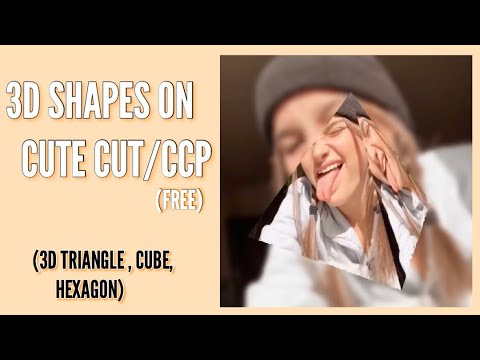 3D SHAPES ON CUTECUT/CCP (free)