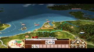 Прохождение Empire: Total War за Голландию. 1 серия.