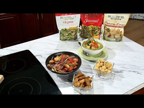 """CROUTONS: """"New Year New You: Simple and Smart Soups and Salads To Encourage A Healthier Lifestyle"""""""