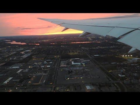 [Stunning Sunset] Montréal To Brussels (Air Canada Boeing 787 Dreamliner)