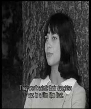 Interview with actress Chantal Goya (1966)