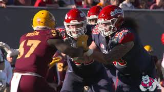 Fresno State Football: Las Vegas Bowl Highlights vs ASU 12/15/18