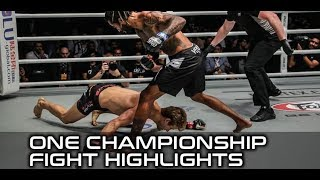Sage Northcutt gets face planted in ONE Championship debut (fight highlights)