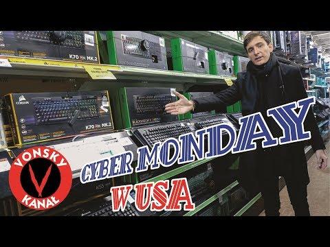 Cyber Monday w USA - MEGA ZNIŻKI na Elektronikę i AGD!