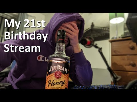 this was supposed to be the greatest birthday stream of all time |