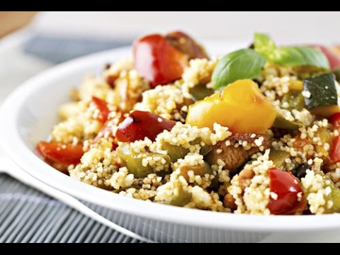 Couscous with Mediterranean Roasted Vegetables