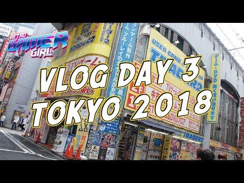 Day 3 Akihabara Retro Game Hunting Tokyo VLOG | Retro Gamer Girl