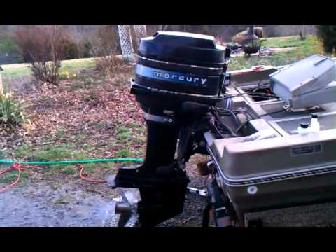 1979 Mercury 80 hp outboard  YouTube