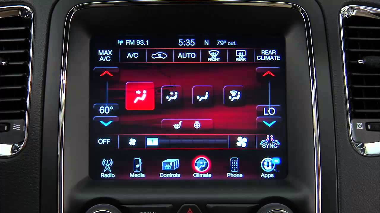 2017 Dodge Journey Navigation System 2011 2018 Dodge