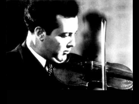 Julian Sitkovetsky plays Sibelius Violin Concerto in D minor, op.47 (Anossov 1953)