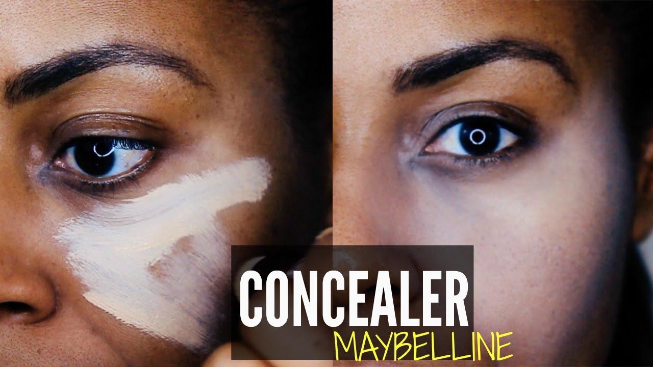 Maybelline Age Rewind Concealer All Shades On Dark Skin