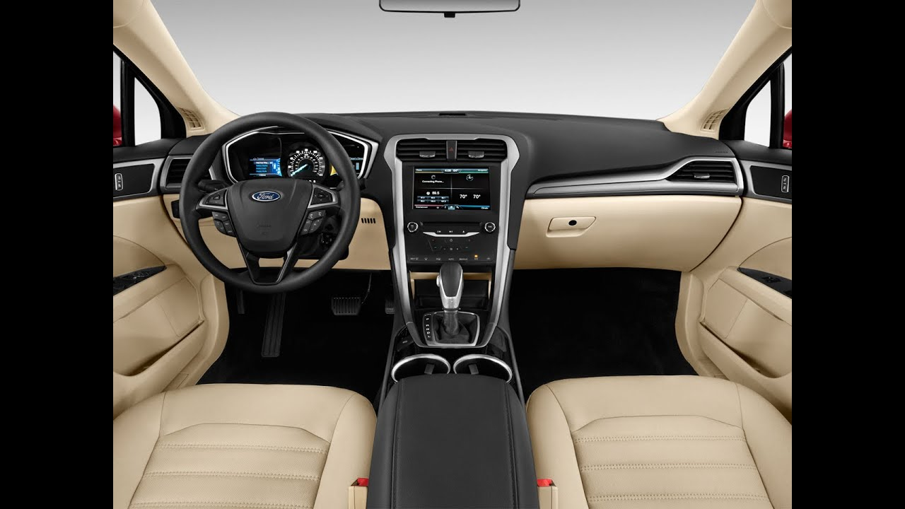 2016 Ford Fusion Review Engine Interior Exterior