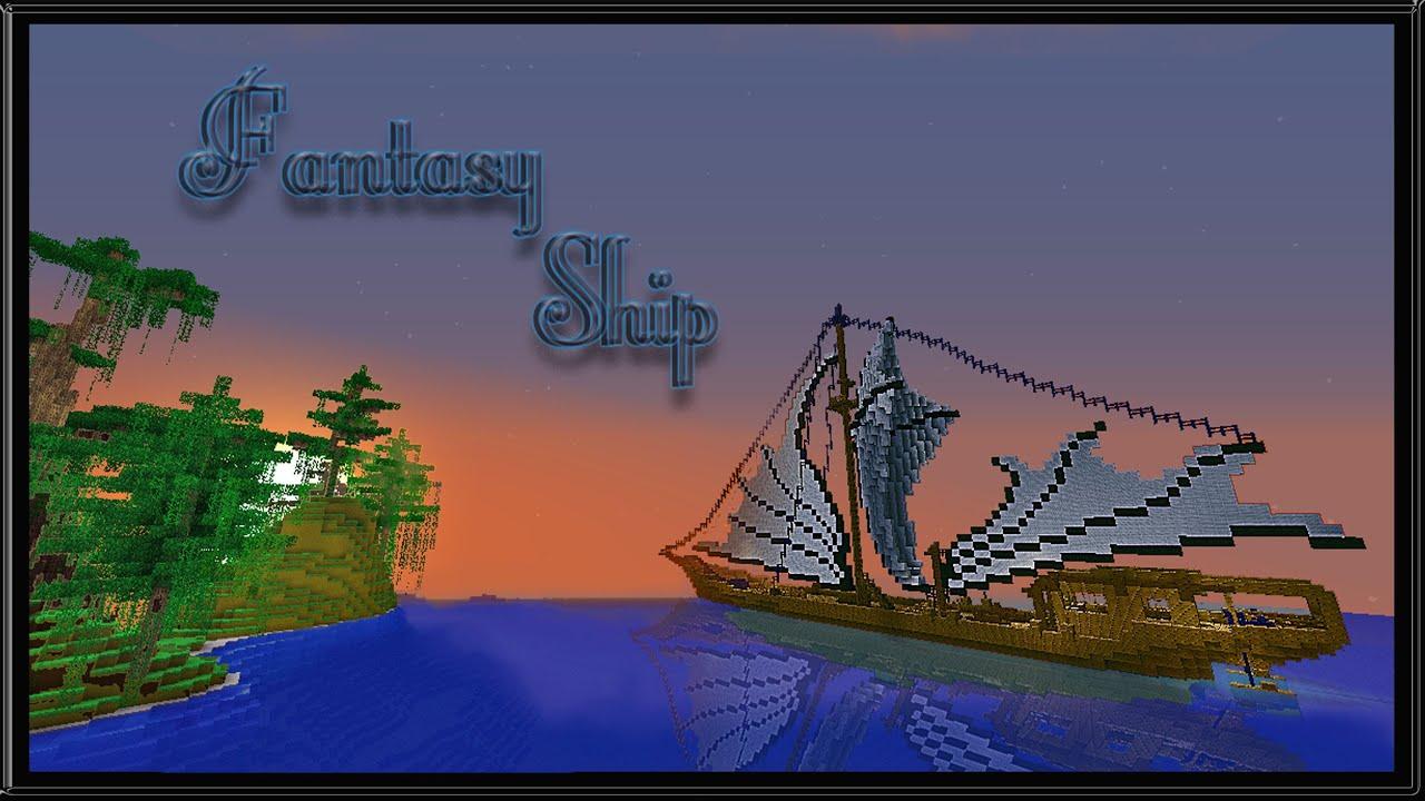 minecraft cinematic fantasy ship schematic download by katariawolfminecraft cinematic fantasy ship schematic download by katariawolf