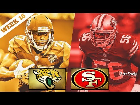 San Francisco 49ers VS Jacksonville Jaguars Week 16 NFL 2017