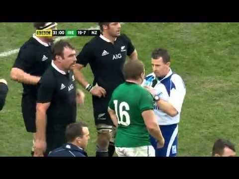 New Zealand vs Ireland Match 2013/11/24