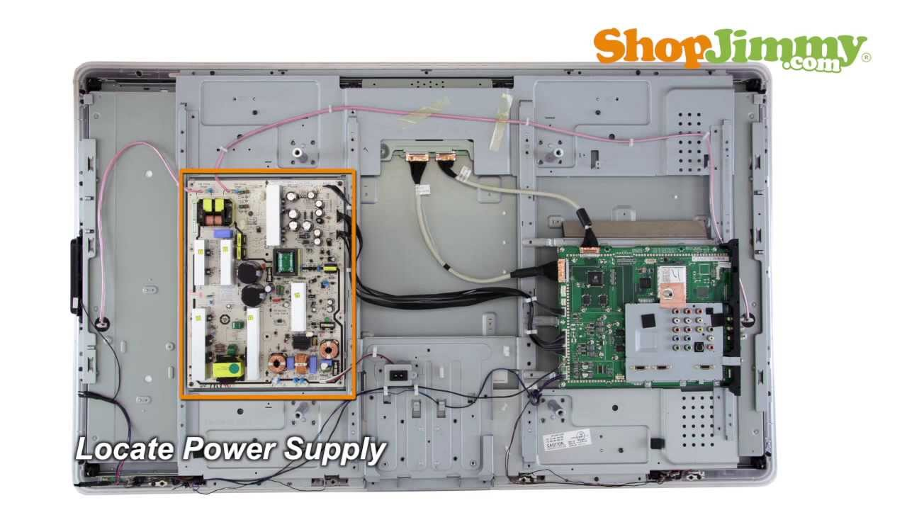 Philips Lcd Tv Repair - 27221710057 Power Supply Board Replacement