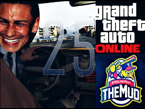 From The Mud to Gta #25 - The Cab's Here (Gta V Online)