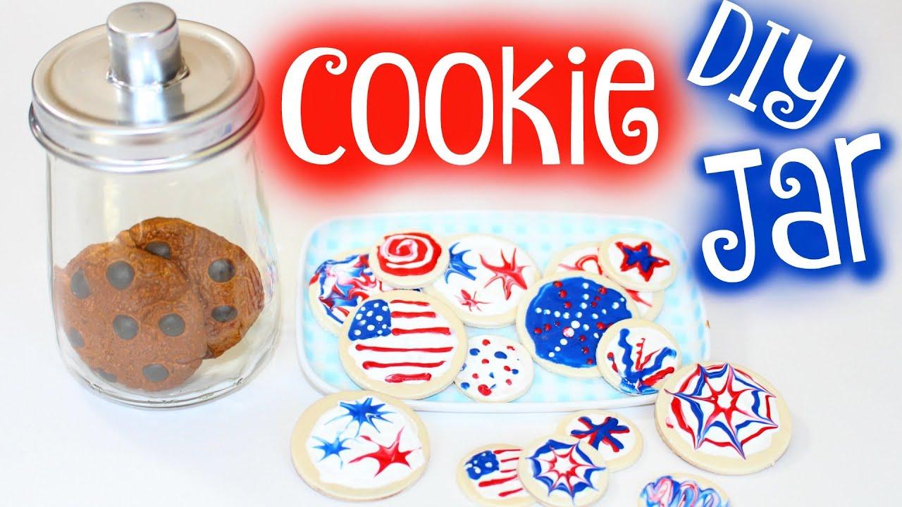 Diy American Doll Cookie Jar