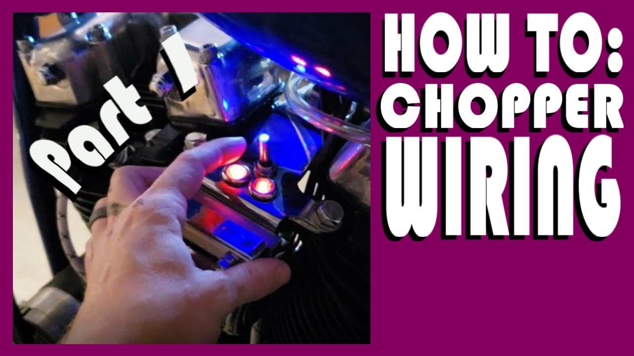 HOW TO: CHOPPER / BOBBER WIRING - PART 1 OF 3 Harley Evo Chopper Wiring Diagram on honda chopper wiring diagram, triumph chopper wiring diagram, mini chopper wiring diagram, suzuki chopper wiring diagram, razor chopper wiring diagram,