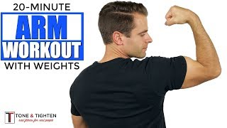 20 Minute Arm Workout With Weights
