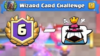6 and DOHHHHH!!! Clash Royale Funny Moments in the Wizard Challenge!