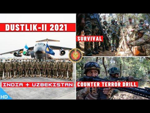 DUSTLIK-II Exercise 2021 : India Uzbekistan Joint Military Exercise