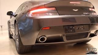 Prueba: Aston Martin V8 Vantage S - Exhaust Sound - Luxury Test Drive